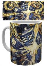Doctor Who van Gogh Tardis Tasse